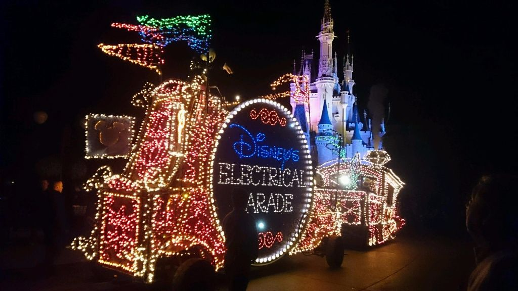 Disney's Electrical Parade - Wordless Wednesday