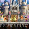 Friendship Faire castle show magic kingdom