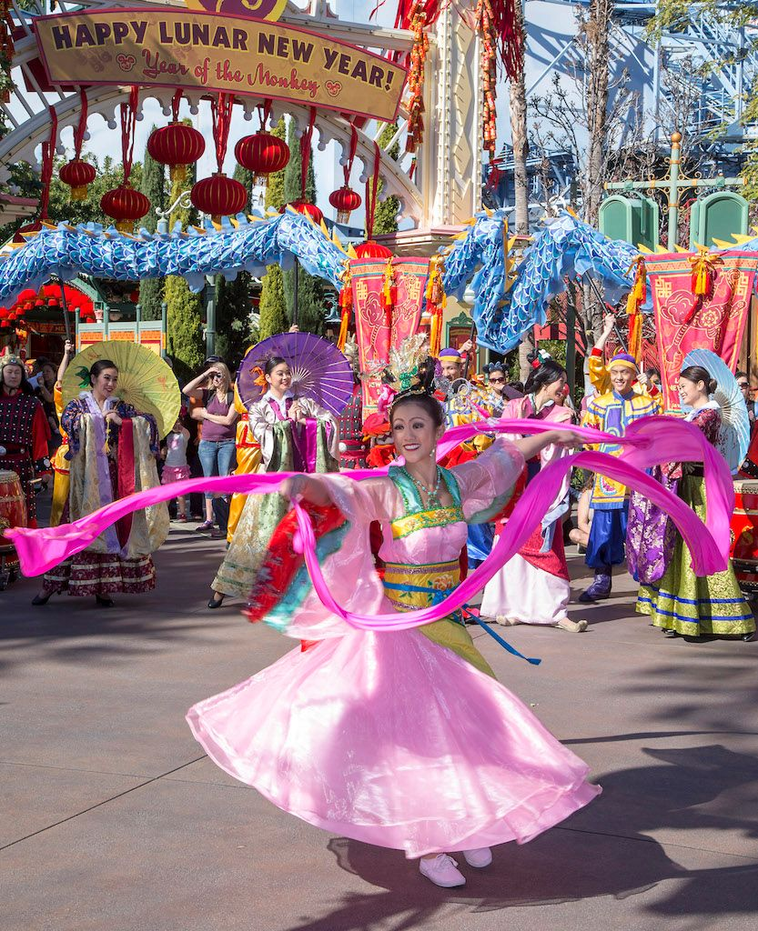 Lunar-New-Year Year of the Monkey Disneyland