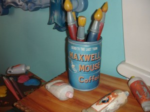 Maxwell Mouse Coffee - Throwback Thursday