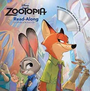 Zootopia Read Along Storybook & CD