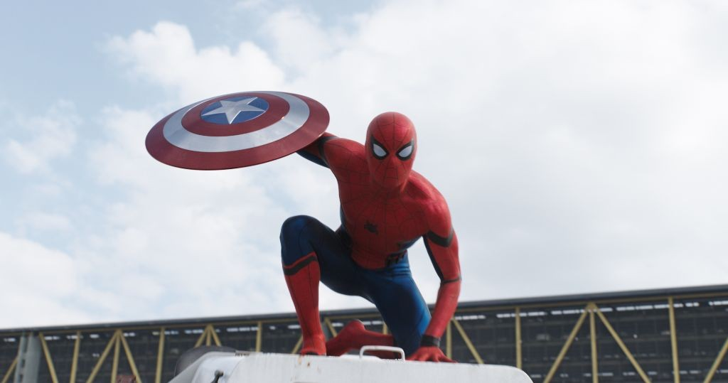 Captain America Civil War Stills - Spider Man