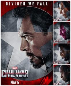 Team Iron Man Collage