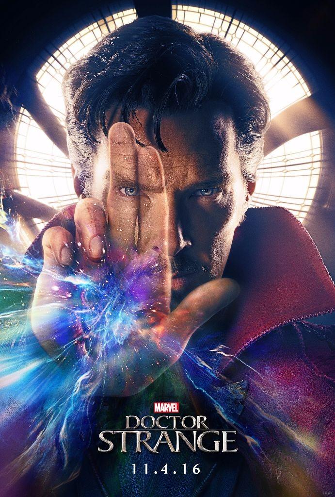 Marvel's Dr Strange Benedict Cumberbatch
