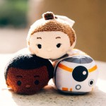 Star Wars The Force Awakens Tsum Tsums Disney Store - Finn, Rey, BB-8