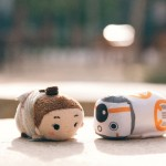 Star Wars The Force Awakens Tsum Tsums Disney Store  - Rey, BB-8