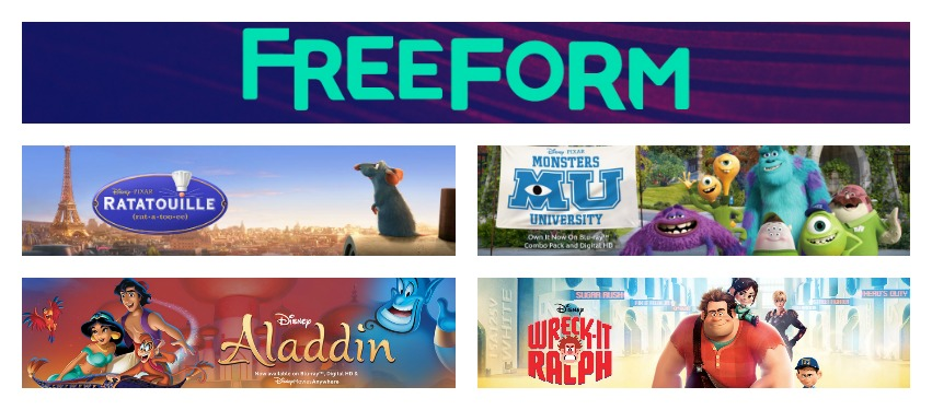 Freeform Funday May 2016