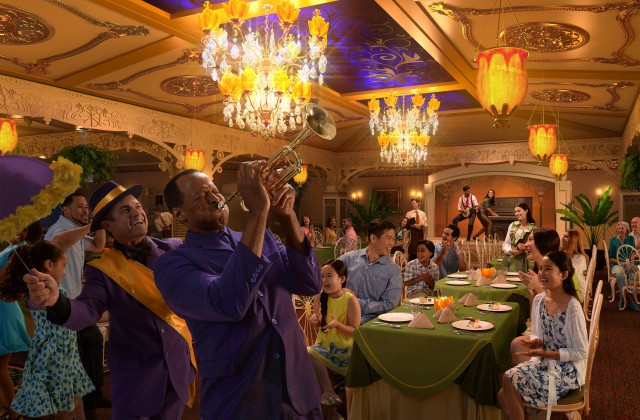 Disney Cruise Line - Tiana's Restaurant - Disney Wonder