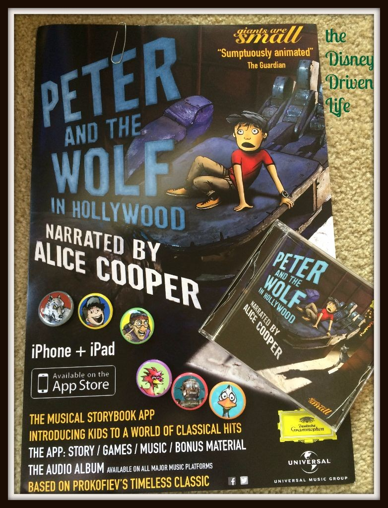Peter and the Wolf in Hollywood Party