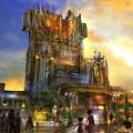 Guardians of the Galaxy Disneyland concept art