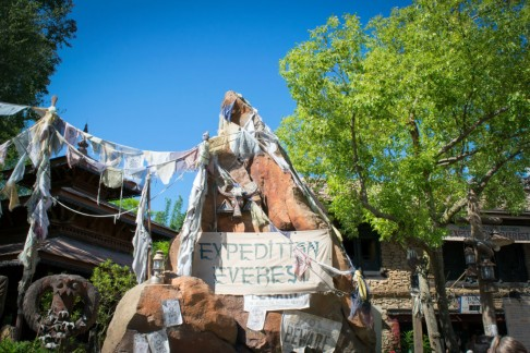 Expedition Everest entrance