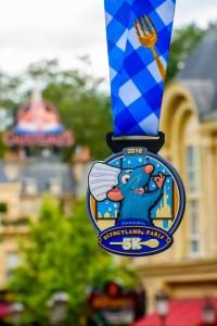 Disneyland Paris Half Marathon Weekend 5K Medal