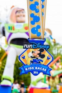 Disneyland Paris Kids' Races Medal