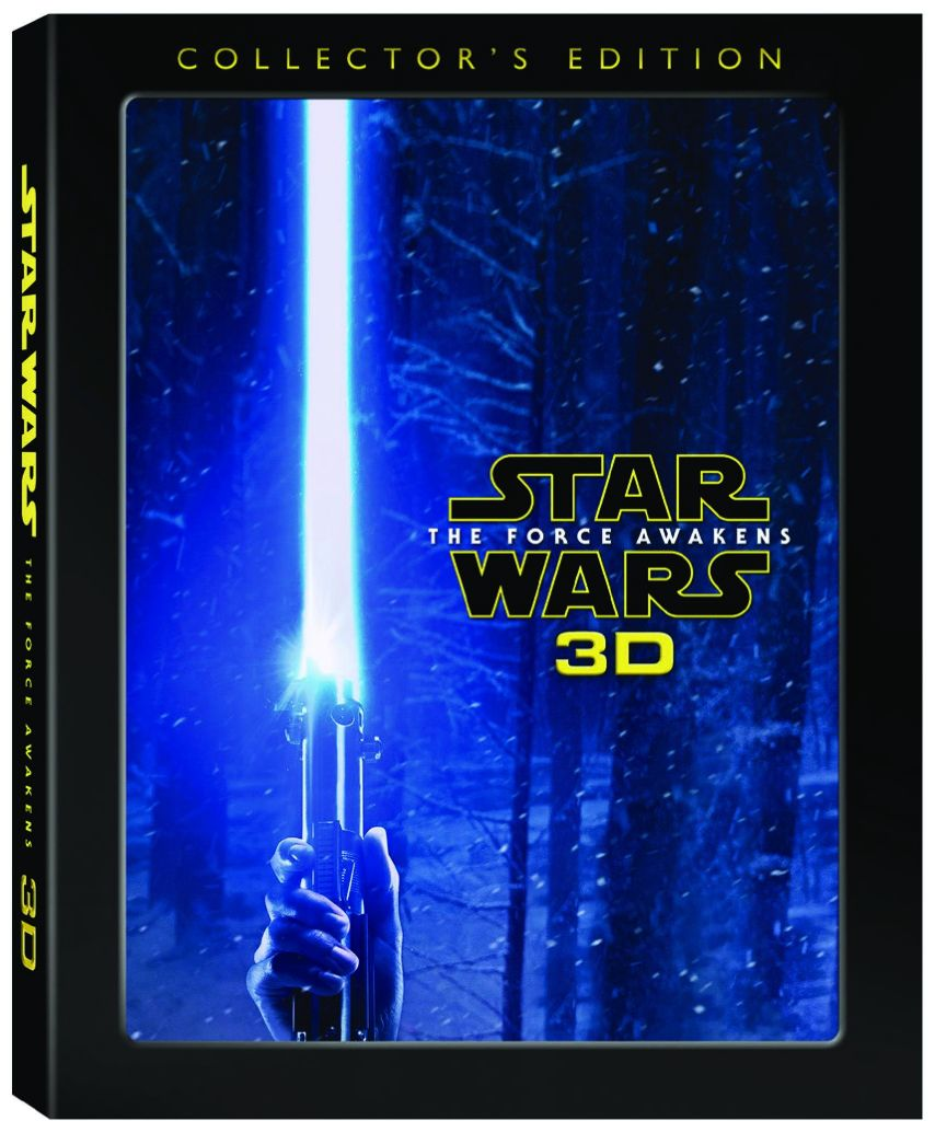 Star Wars Force Awakens 3D