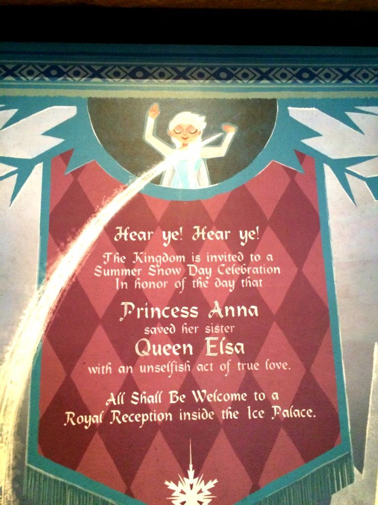 frozen ever after tapestry
