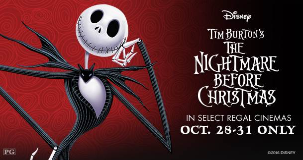 Nightmare Before Christmas in Theaters