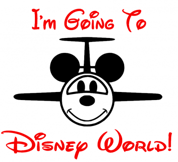 going to disney world