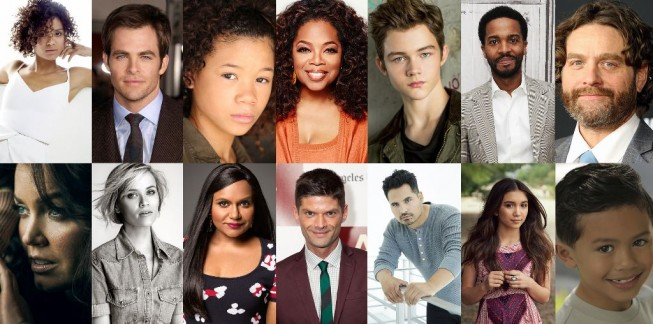 Wrinkle in Time cast