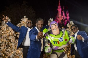 Boyz II Men, Buzz Lightyear, Cinderella Castle, Disney Parks Christmas Celebration
