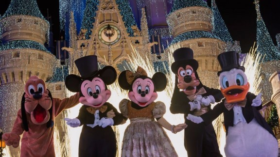 Walt Disney World New Year's Eve