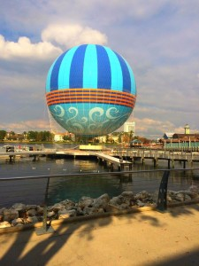 Characters in Flight New balloon Wordless Wednesday
