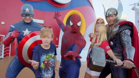Disney Cruise Line Marvel day at sea