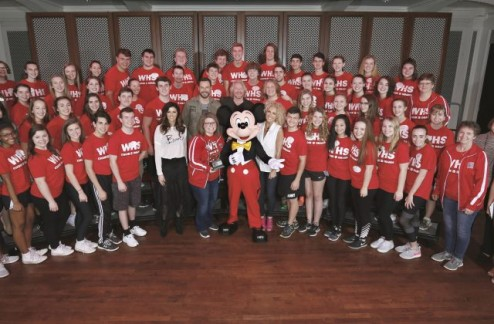 Little Big Town with Mickey and Students