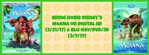 Moana DVD/BluRay/3D/Digital Release