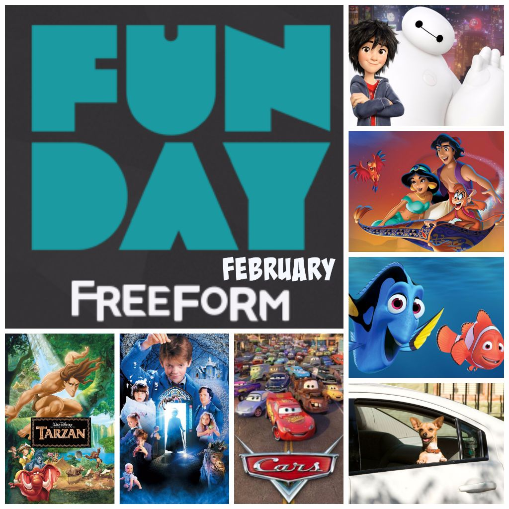 Freeform Funday February 2017
