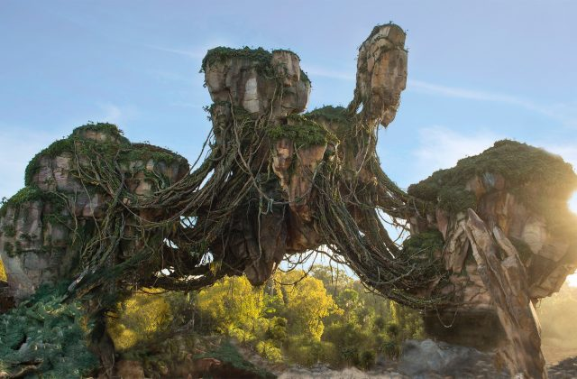 Pandora Disney's Animal Kingdom Floating Rock