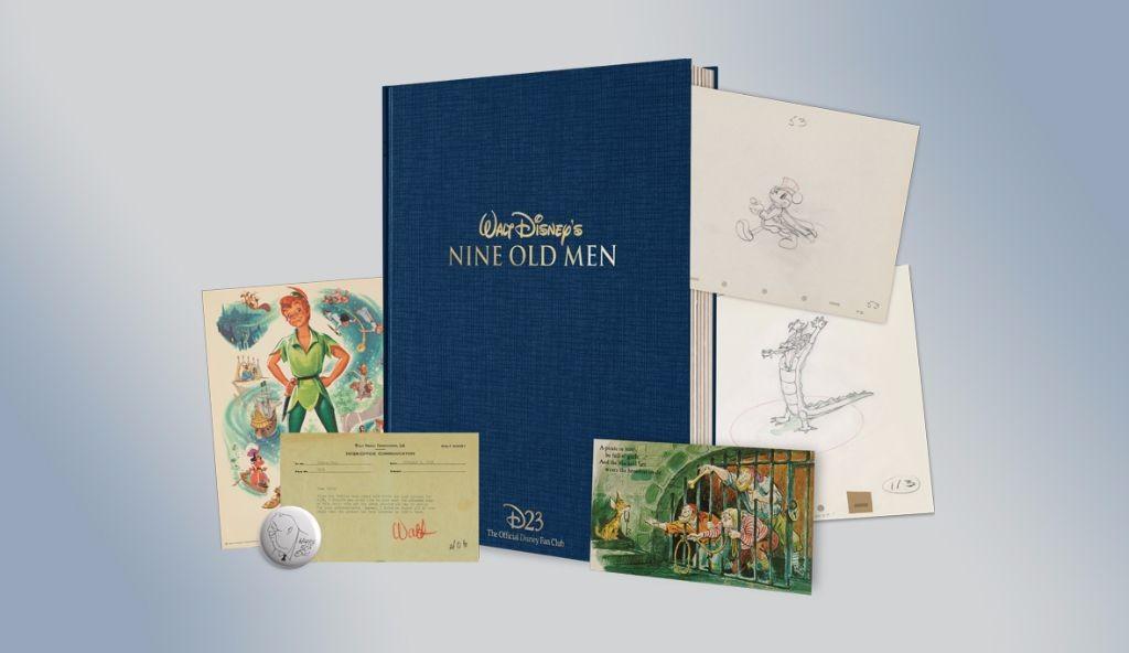 Walt Disney's Nine Old Men - D23 2017 gift
