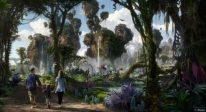 Concept art by Disney for Pandora - The Word of Avatar