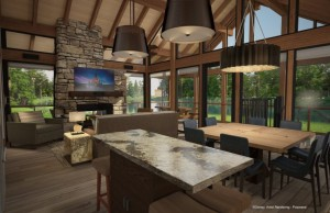 Copper Creek Villas Cabins Rendering