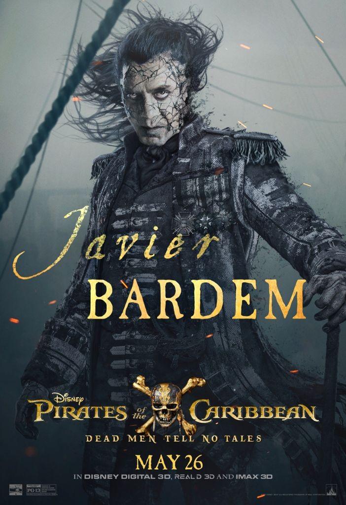 Pirates of the Caribbean 5 Salazar