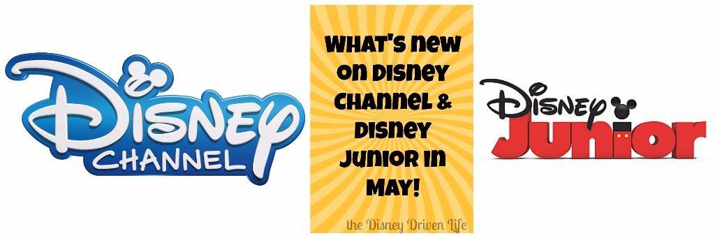 Disney Channel Disney Junior may 2017