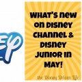 Disney Channel Disney Junior may 2017