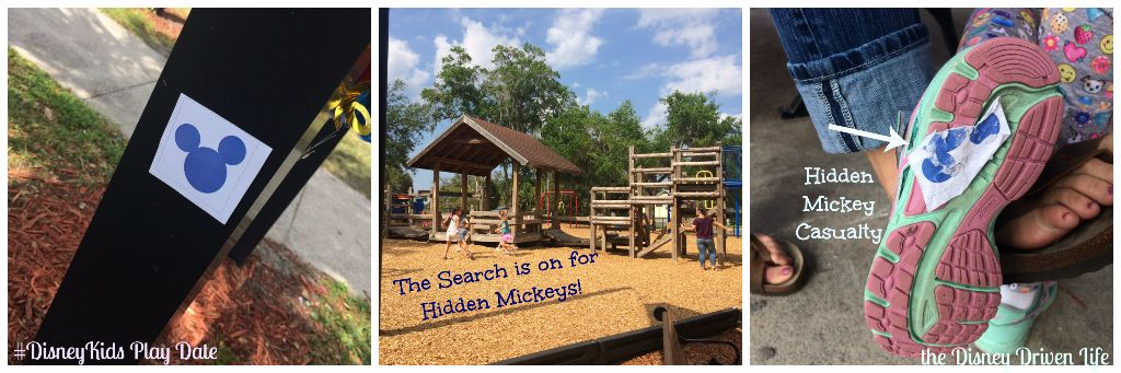 Hidden Mickey Hunt #DisneyKids Play Date the Disney Driven Life
