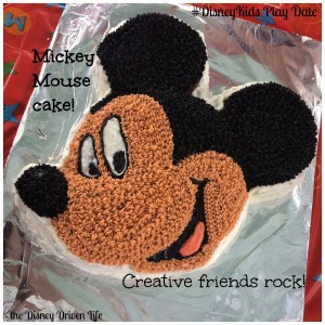 Mickey Mouse Cake #DisneyKids Play Date Disney Driven Life