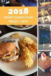 2018 disney dining plan resales dvc