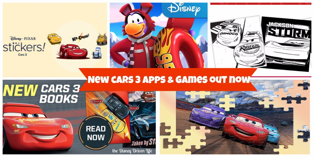 Cars 3 apps & games