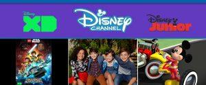 Disney Junior Disney XD Disney Channel andi mack, mickey roadster racers, lego freemakers