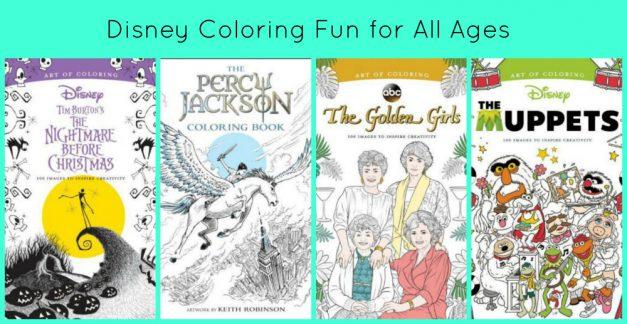 Disney coloring fun review