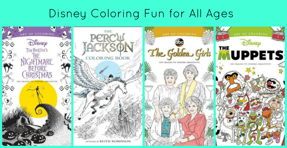 Disney coloring fun review