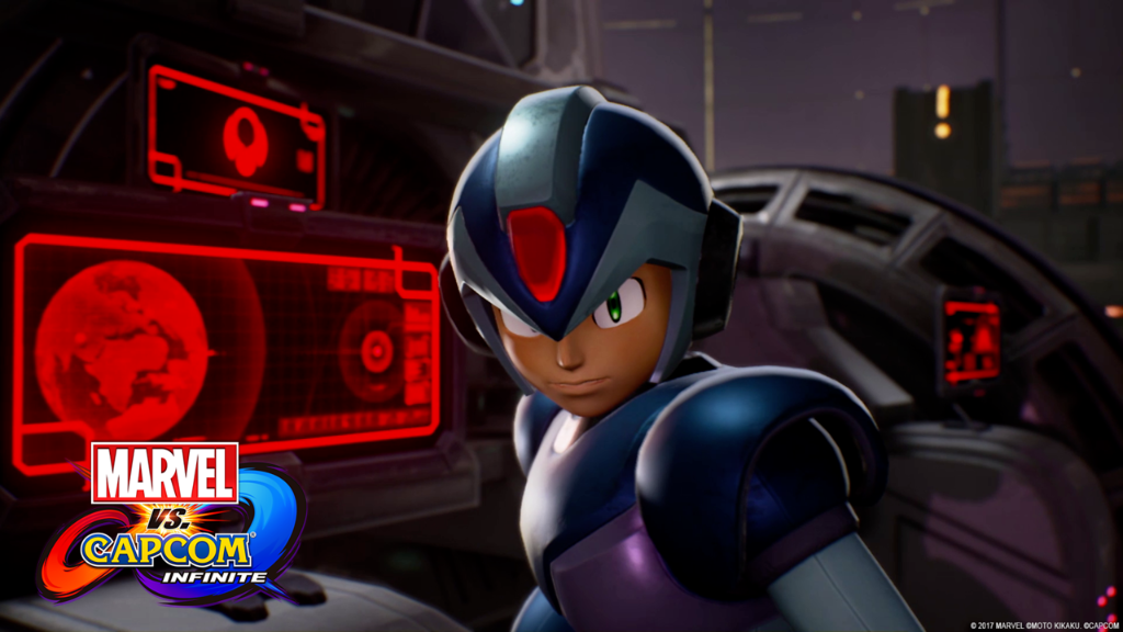 marvel vs capcom mega man