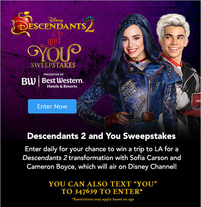 Descendants 2 and You Sweeps