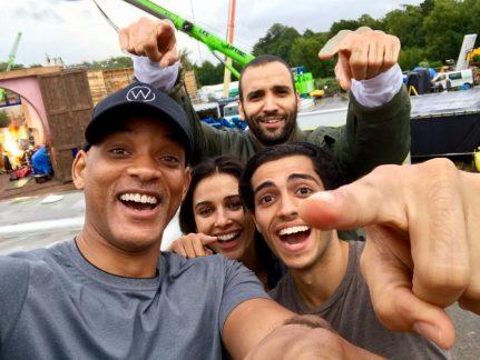 Live Action Aladdin cast