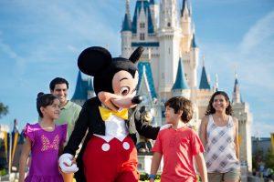 Mickey Mouse Cinderella Castle