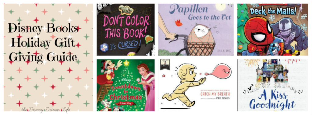 disney books holidays 2017
