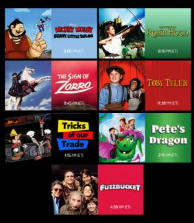 TCM Treasures from the Disney Vault