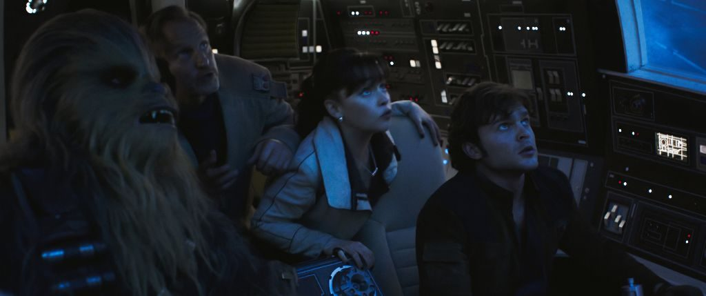 Joonas Suotamo is Chewbacca in SOLO: A STAR WARS STORY.